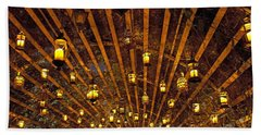 A Thousand Candles - Tunnel Of Light Hand Towel