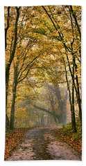 A Touch Of Gold Hand Towel