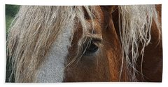 A Trusted Friend Hand Towel by Yvonne Wright