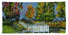 A Walk In The Park Hand Towel