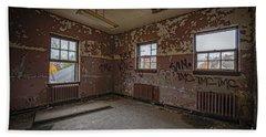Abandoned Room At Letchworth Bath Towel
