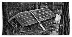 Abandoned Rowboat Bath Towel