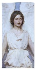 Abbott Handerson Thayer Angel 1886 Bath Towel