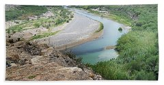 Above The Rio Grande Hand Towel