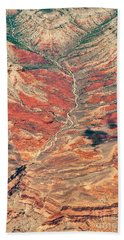 Bath Towel featuring the digital art Above Timber Line by Mae Wertz