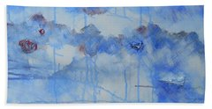 Abstract # 3 Hand Towel by Susan Williams
