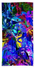 Abstract 010215 Bath Towel by David Lane