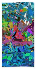 Bath Towel featuring the digital art Abstract 011515 by David Lane