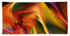 Abstract 031814 Hand Towel