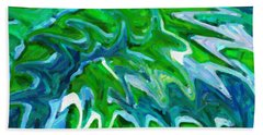 Abstract 16 Bath Towel by Kenny Francis