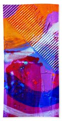 Abstract  19614 Cropped IIi Hand Towel