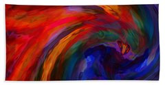 Abstract 29012013 - 042 Hand Towel by Stuart Turnbull