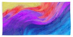 Hand Towel featuring the photograph Abstract 37 by Kenny Francis