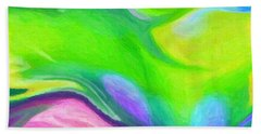 Abstract 38 Bath Towel by Kenny Francis