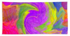 Abstract 44 Bath Towel by Kenny Francis