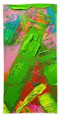Abstract 6814 Diptych Cropped Xvii Hand Towel