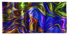 Abstract Series A3 Bath Towel