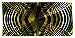 Abstract Butterfly Hand Towel
