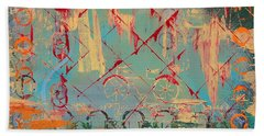 Abstract Cruiser Bath Towel