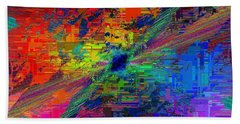 Abstract Cubed 77 Bath Towel
