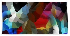 Bath Towel featuring the digital art Abstract Distraction by David Lane