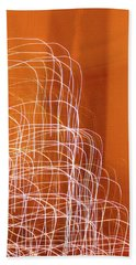 Abstract Energy Bath Towel