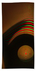 Abstract Eye Bath Towel