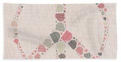 Peace Symbol Design - S77bt01 Bath Towel