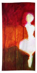Abstract Ghost Figure No. 2 Hand Towel