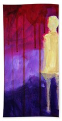 Abstract Ghost Figure No. 3 Bath Towel