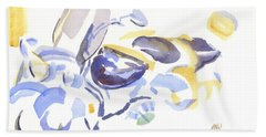 Abstract Motorcycle Hand Towel by Kip DeVore