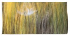 Abstract Haze Bath Towel