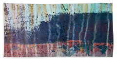 Bath Towel featuring the photograph Abstract Landscape by Jani Freimann