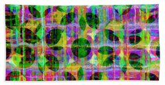 Abstract Lines 17 Bath Towel