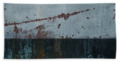 Bath Towel featuring the photograph Abstract Ocean by Jani Freimann