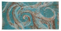 Abstract Octopus Hand Towel