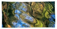 Abstract Of Nature Bath Towel