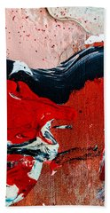 Abstract Original Artwork One Hundred Phoenixes Untitled Number Four Hand Towel
