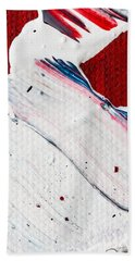 Abstract Original Artwork One Hundred Phoenixes Untitled Number Nine Hand Towel