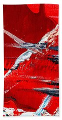 Abstract Original Artwork One Hundred Phoenixes Untitled Number Seven Hand Towel