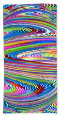 Abstract Pregnancy Hand Towel