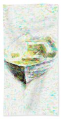 Abstract Rowboat Hand Towel