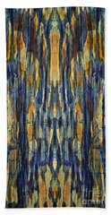 Abstract Symmetry I Bath Towel by David Gordon