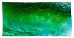 Abstract Wave 3 Bath Towel
