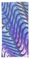 Abstract Waves Hand Towel