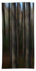 Abstract Woods Bath Towel