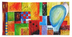 Abstraction 061 Marucii Bath Towel
