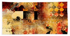 Abstracture - 103106046f Hand Towel