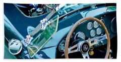 Ac Shelby Cobra Engine - Steering Wheel Bath Towel