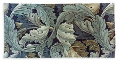 Acanthus Leaf Design Bath Towel